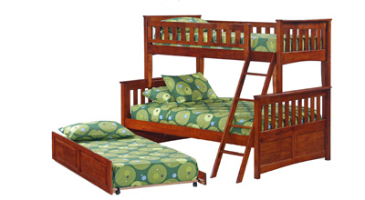 ginger bunk with trundle