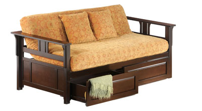 teddy daybed in chocolate