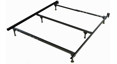 deluxe queen frame with center support