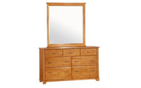 juniper dresser and mirror